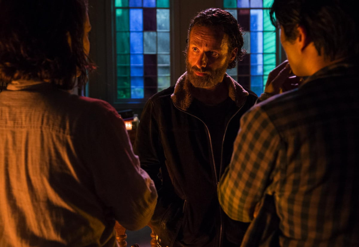 walking dead weekly recap bodies fall four walls roof s  e