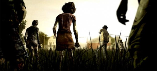 walking dead zombies first person shooter game