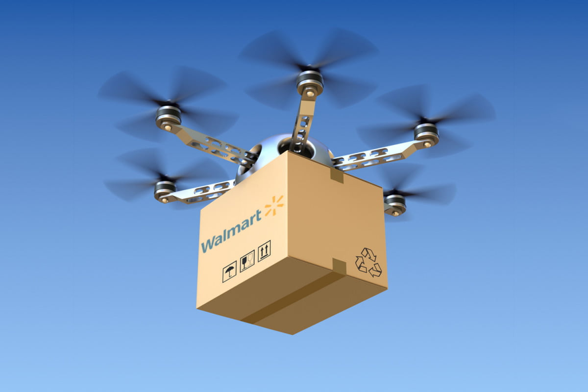 walmart joins race to use drones for home delivery