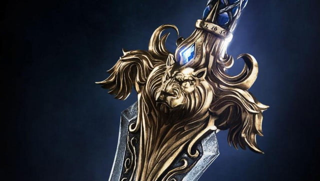 warcraft movie cast characters poster images debut blizzcon alliance crop