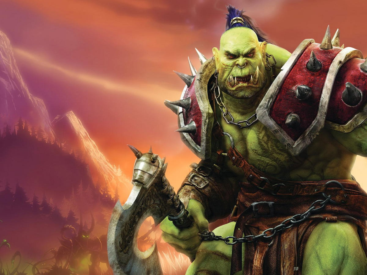 warcraft adds three cast orc