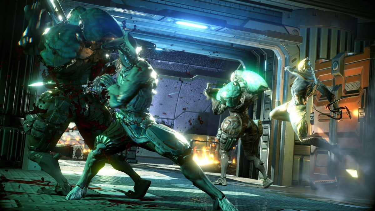 warframe gets content rating pegi xbox one