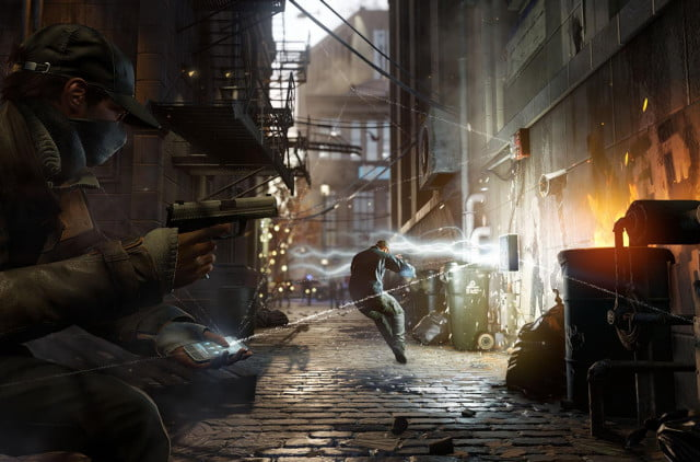 following the delay of watch dogs ubisofts shares fall  percent
