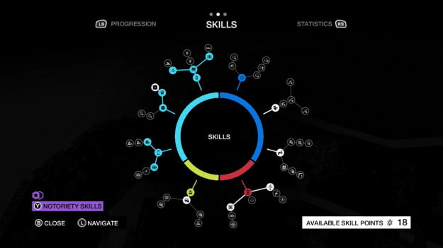 Watch Dogs  Skill Point Map