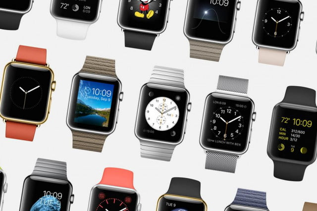 report apple debuts at no  in the worldwide wearables market watch faces