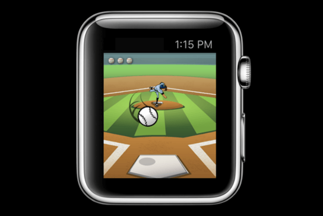 apple watch games this homerun