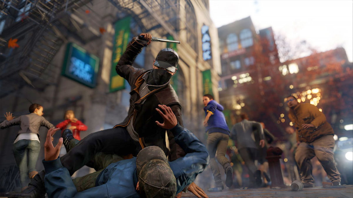 watch dogs confirmed release may  vigilante takedown screenshot