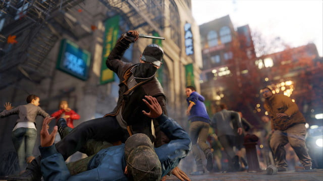 watch dogs coming wii u fall vigilante takedown screenshot