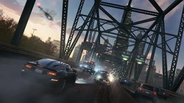 WatchDogs CarChase