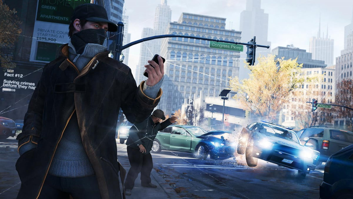 ubisofts watch dogs heading to the big screen watchdogs police block trafficlight