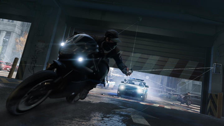 sibling rivalry with big brother in ubisoft montreals watch dogs watchdogs takedown cop droppingdoor