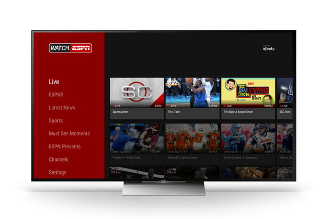 watchespn access android tv app