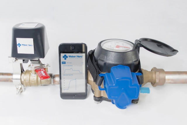 water hero plumbing monitor prevents burst pipes