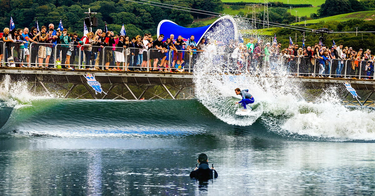 Wavegarden 39 s innovative 2 0 wave pool to debut in perth by for Pool and garden show perth