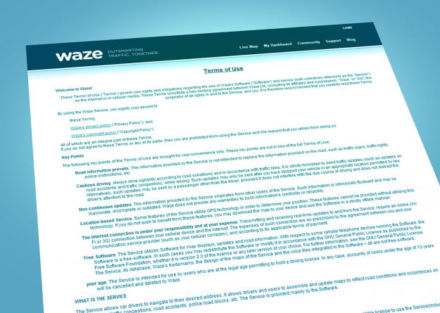 waze-terms-conditions