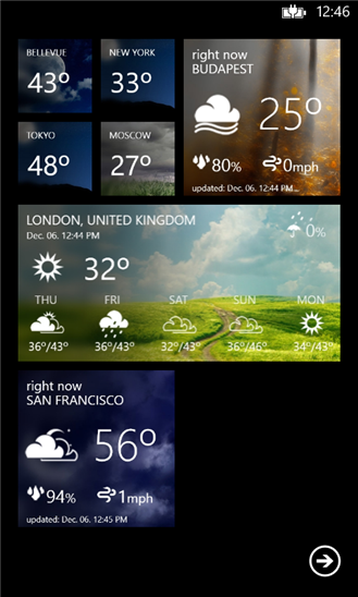 Weather Flow screenshot