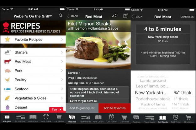 Weber's On the Grill App