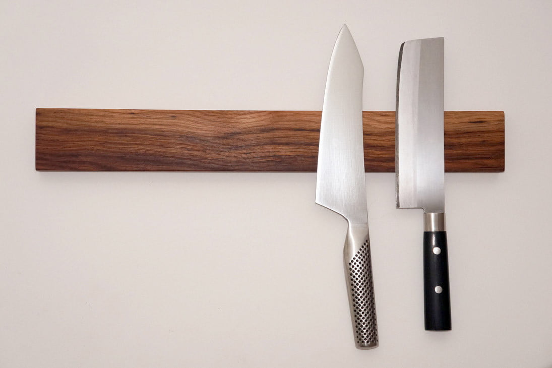 How To Build A Magnetic Knife Rack Digital Trends