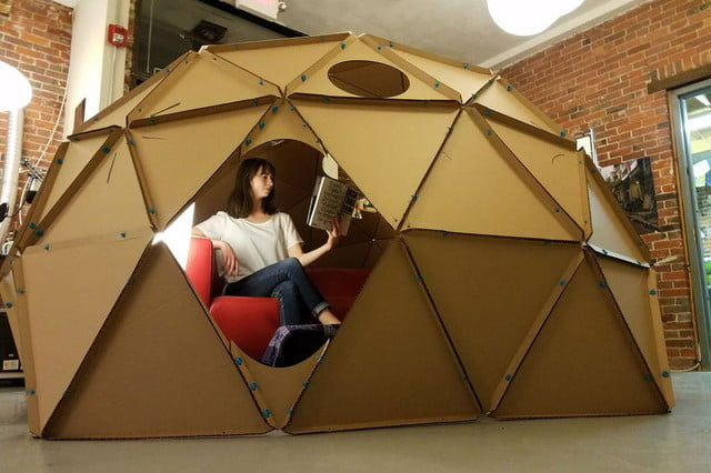 weekend workshop how to build a geodesic dome