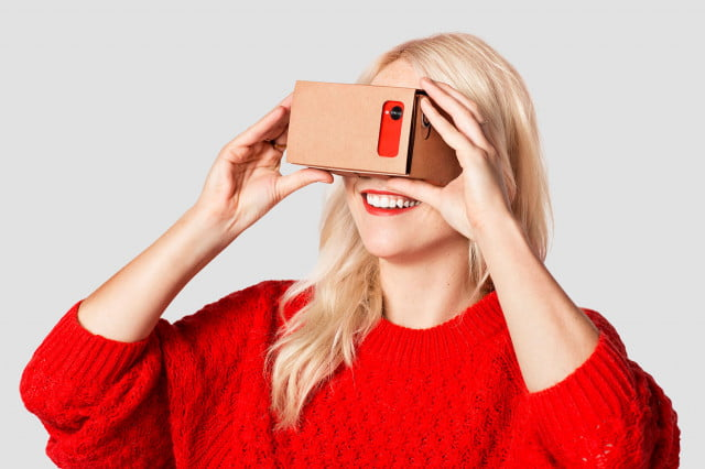 google virtual reality headset news weekend workshop diy cardboard