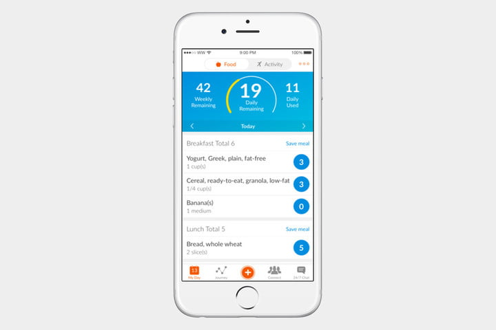 weight watchers ios app