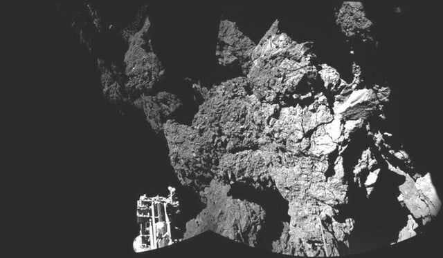 scientists discover building blocks of life on comet  p welcome to a node full image