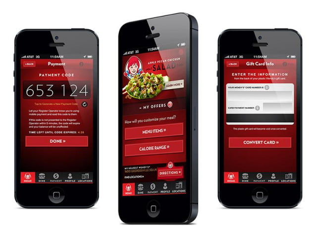 wendys now lets pay mobile wendy s