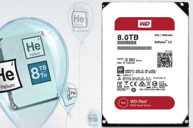 western digital helium hard drives  tb drive