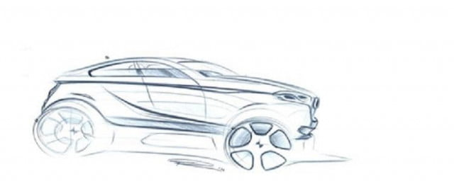bmw x  crossover coupe rumors sketch