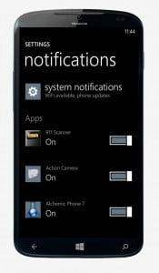 What we want Windows Phone 8.1 Quick Settings