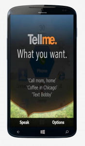 What we want Windows Phone 8.1 Tellme
