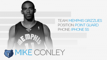 Whats on your phone Mike Conley