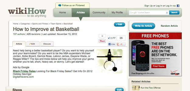 WikiHow basketball