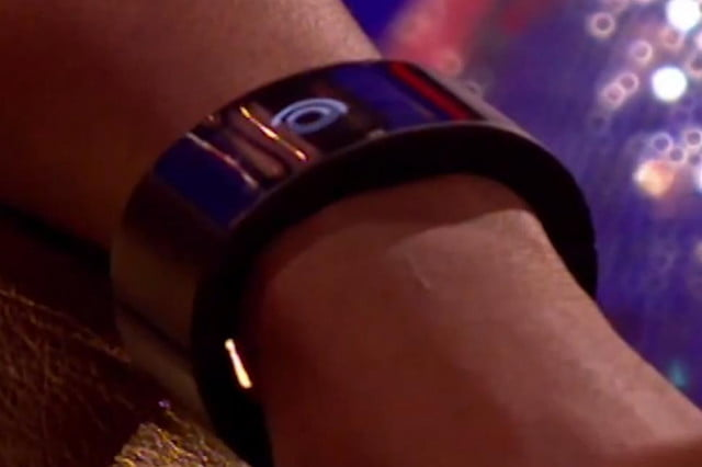 will i am demonstrates his smartwatch on uk tv