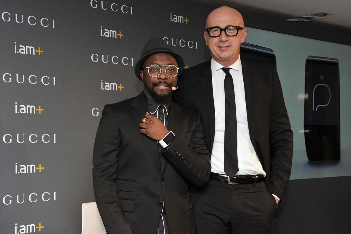 will i am gucci timepieces smartband news with ceo marco bizzarri