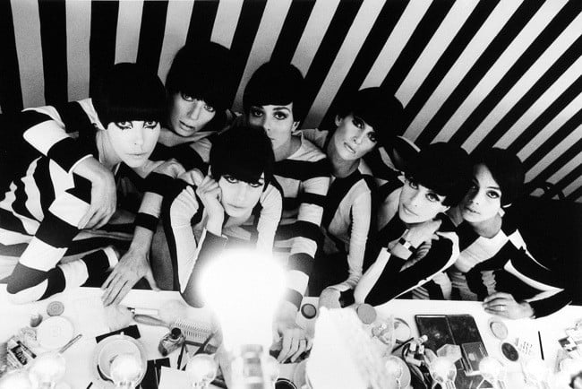 "Models Backstage, from the 1966 film ""Who Are you Polly Maggoo?"" Photo by William Klein (via WWD)"