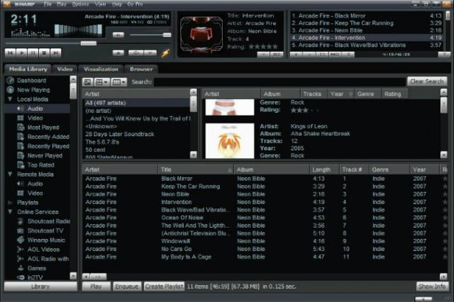 new life llama winamp reportedly sold aol radionomy