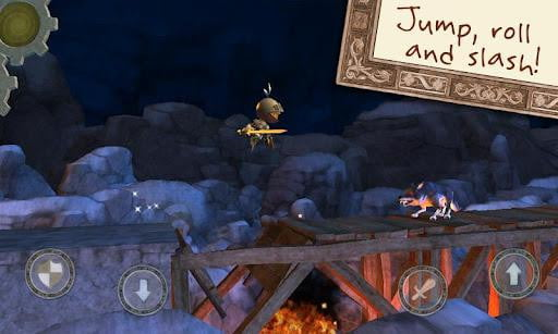 wind up knight screenshot android arcade app game