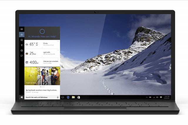 toshibas windows  laptops will feature a cortana keyboard button