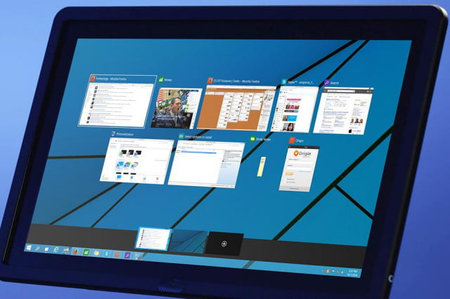 microsoft updates windows  technical preview to build hands on feature