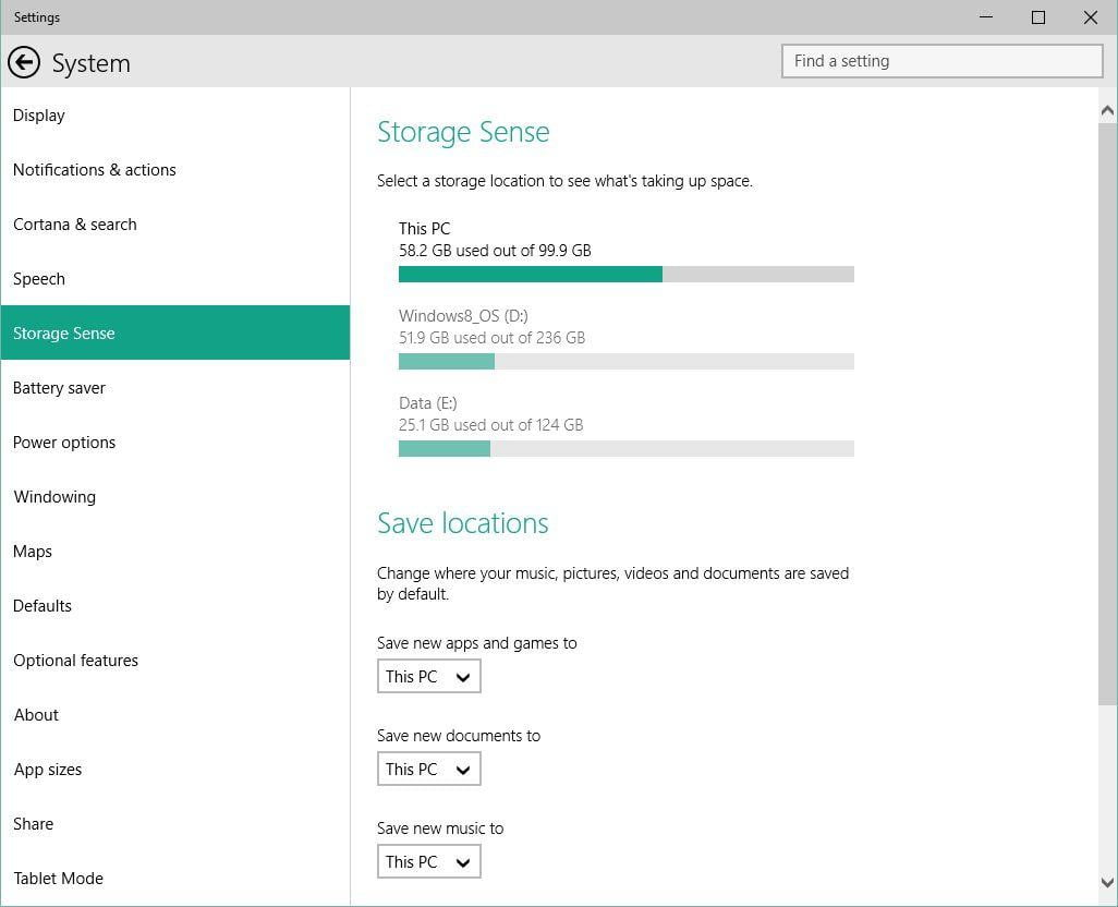 how to change setting to charge battery windows 10