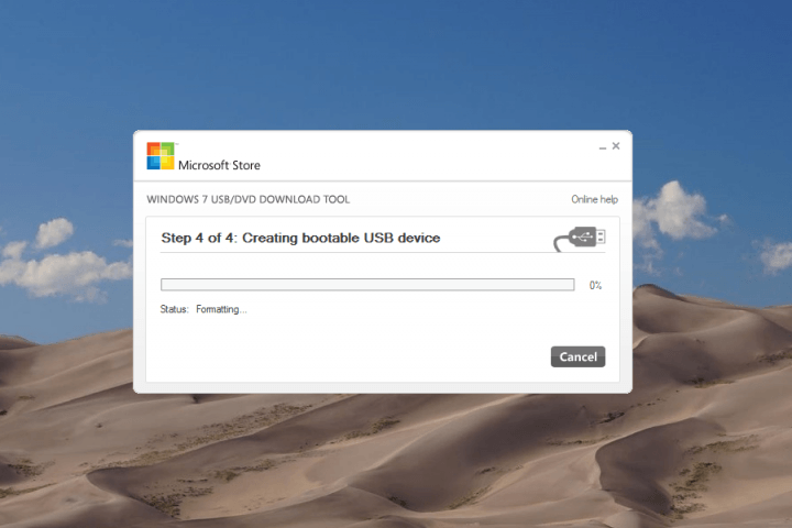 how to download windows 10 from a usb