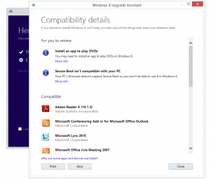 Windows 8 Compatibility Report