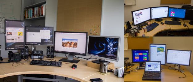 windows 8 multi monitor setup