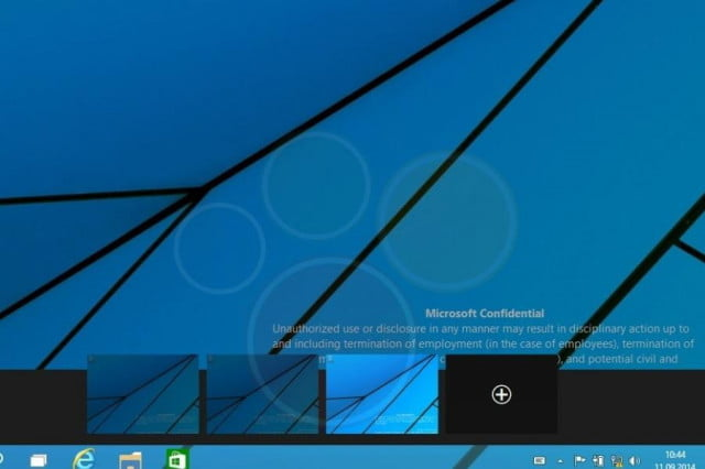 windows  video of multiple desktop feature in use leaks leak ( )