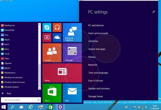 windows  five things we expect from microsofts next os start menu video leak
