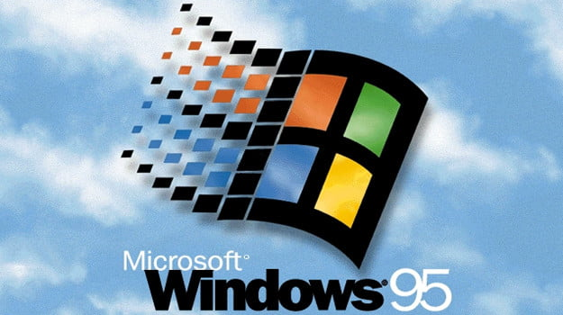 windows 95 launch microsoft
