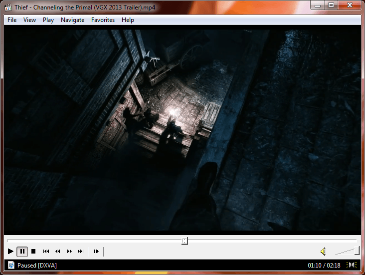 Windows Media Player Classic Screenshot Update