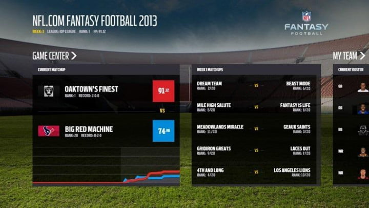 microsoft nfl track the health of players during a game windows fantasy football app