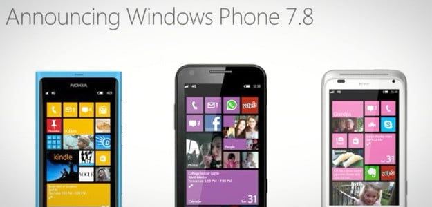 Microsoft Windows phone 7.8 update